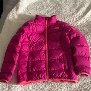 GIRLS North Face Winter Coat